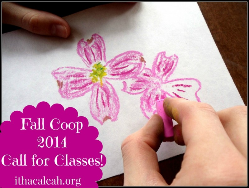 Ithaca LEAH: Fall Co-op 2014 Call for Classes