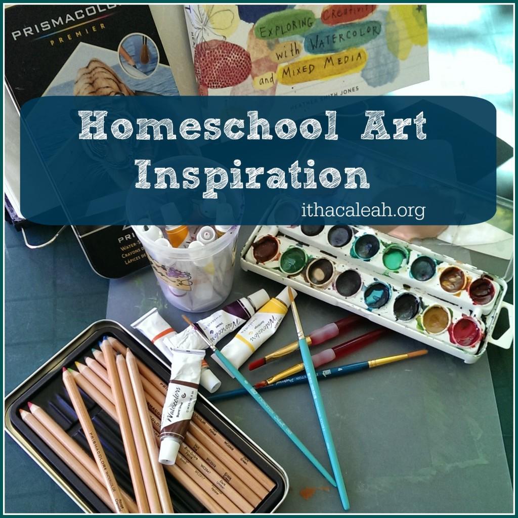 Homeschool Art Inspiration