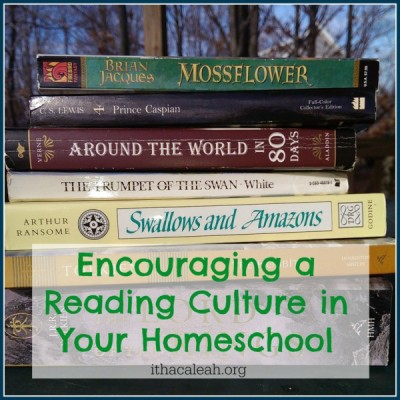 Encouraging a Reading Culture in Your Homeschool